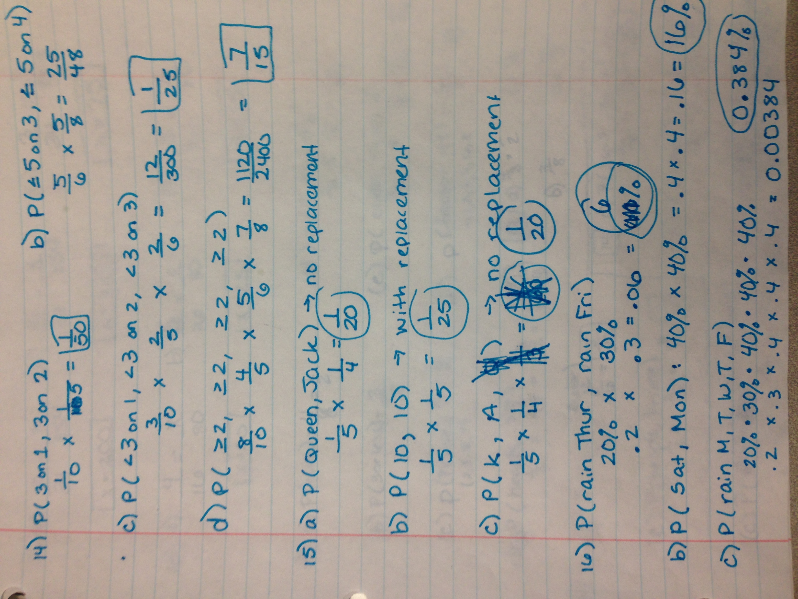 Probability and statistics test review - Welcome to Ms  Gillen's Class